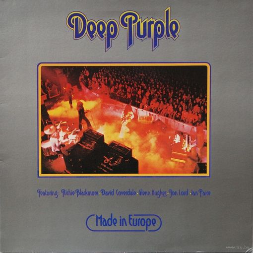 Deep Purple - Made In Europe - LP - 1976
