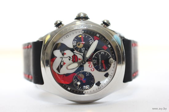 Редкая лимитка Corum Bubble Limited Edition Joker Chronograph 380/777 [285.240.20], Оригинал