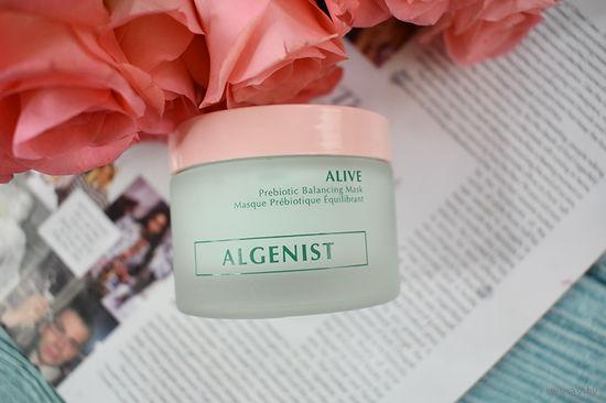 Algenist Alive Prebiotic Balancing Mask – маска для лица с пробиотиками;