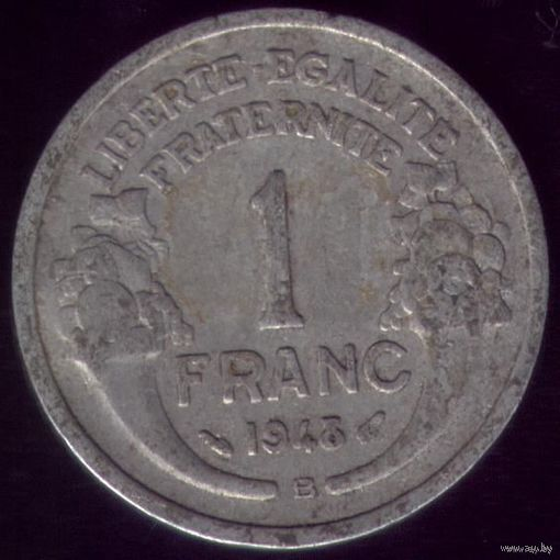 1 Франк 1948 год Франция B