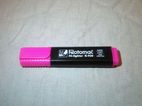Маркер Rotomac Hi-Lighter (розовый цвет)