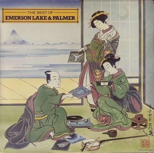 Emerson, Lake & Palmer - The Best Of Emerson Lake & Palmer - LP - 1980