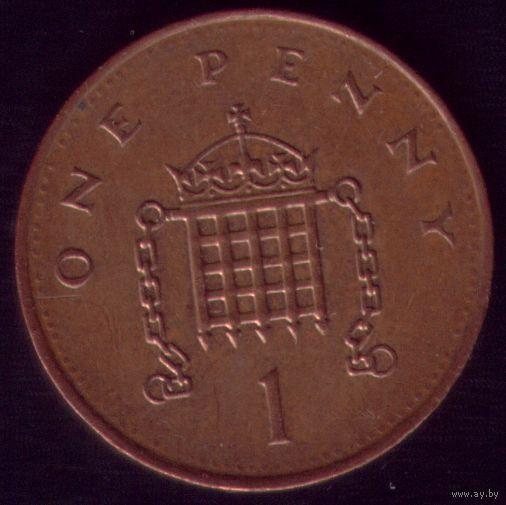 1 пенни 1994 год Великобритания