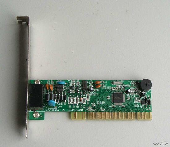 Модем 56k на шину PCI