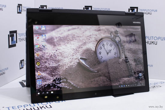 "Сенсорный 14"" ноутбук-трансформер Toshiba Satellite L40W (Core i7-5500U, 8Gb, 256Gb SSD). Гарантия"