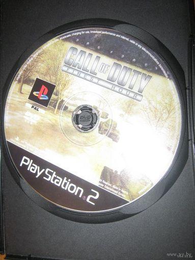 Callofduty диск sony ps