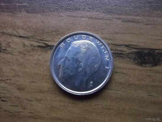 Бельгия 1 франк 1990 (Belgiё)