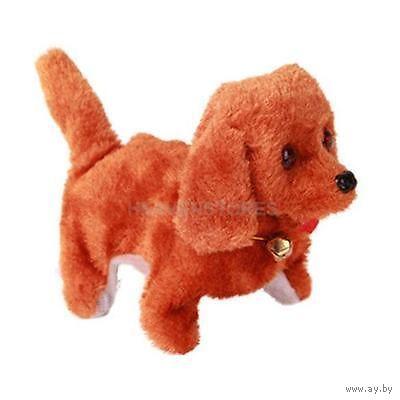 Подвижная,озвученная собачка