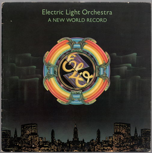 LP Electric Light Orchestra 'A New World Record'