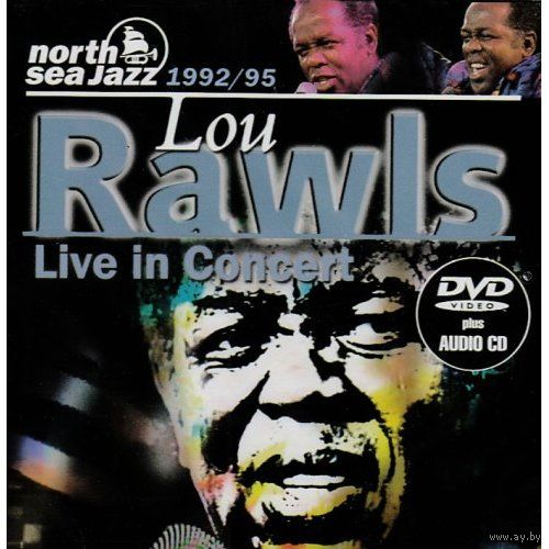 "Lou Rawls ""Live in Concert 1992/95"" DVD 9 & Audio CD"