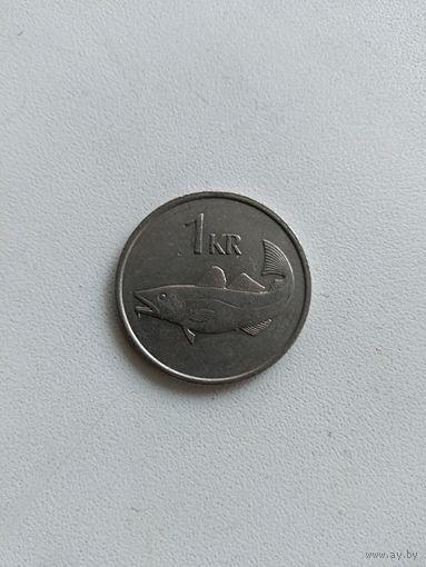 1 Крона 1987 (Исландия)