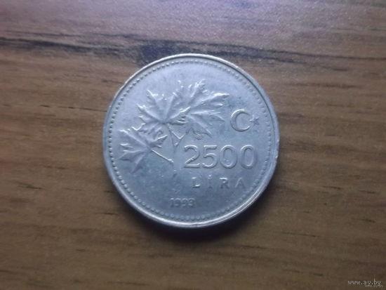 Турция 2500 лир 1993