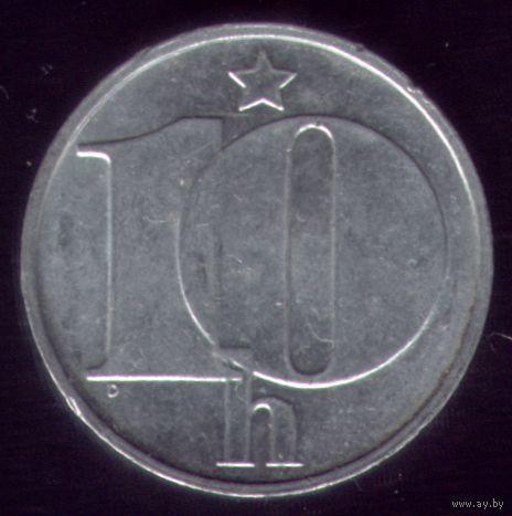10 геллеров 1975 год ЧССР