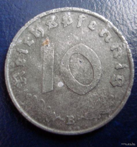 10 пфенингов 1941 (В) - 2