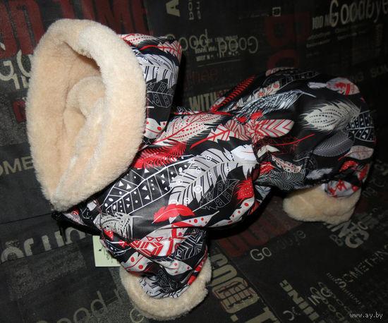 Комбинезон зима для собак, спинка 32-33см