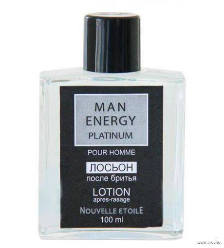 НОВАЯ ЗАРЯ Энергия Мужчины Платиновый (Man Energy Platinum) Лосьон после бритья (After-shave lotion) 100мл