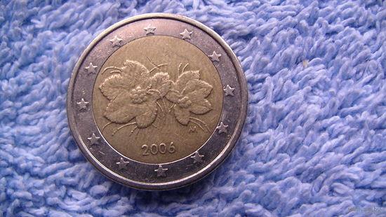 Финляндия 2 евро 2006г.  распродажа