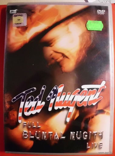 "Original DVD!!! Ted Nugent ""Full Bluntal Nugity Live"" 2DVD 2000"