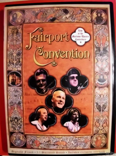 "Original DVD!!! Fairport Convention ""Live At The Marlowe Theatre, Canterbury"" 2005"