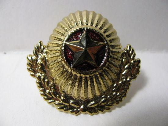 Кокарда. Офицеров и прапорщиков Вооруженных Сил Беларуси (тяжёлая)