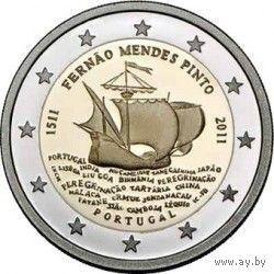 2 евро Португалия 2011г.
