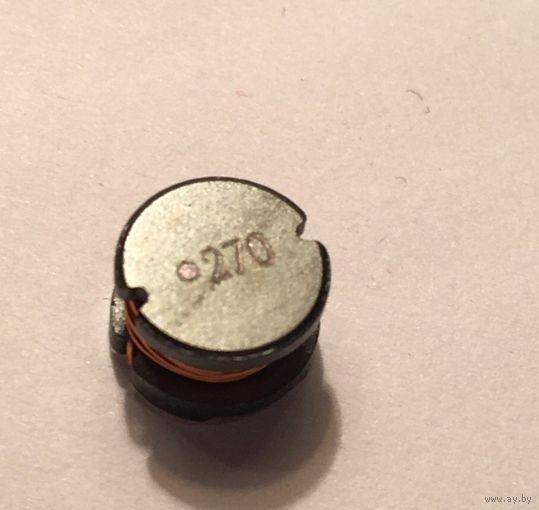 Индуктивности/Дроссели  27 мкГн . SR0805270MLB SMD Катушки индуктивности (Индуктор, индуктивность, дроссель)