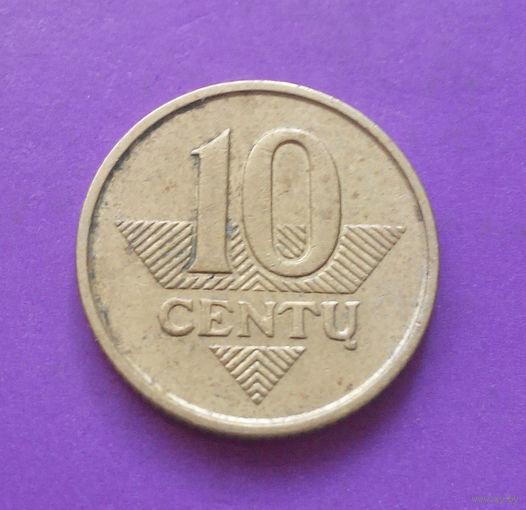 10 центов 2007 Литва #04