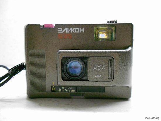 Фотоаппарат Эликон-535, с объективом Минар-2, серый