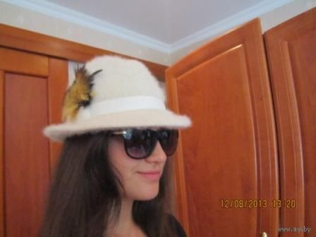 Звёздная роскошь. шляпа для тебя ангора и шерсть. стильная. Германия