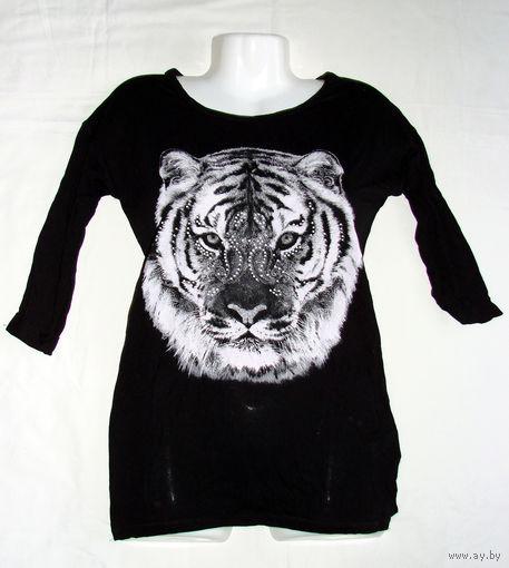 Элегантная женская блузка из тонкой натуральной вискозы турецкого производства фирмы DeFacto, абсолютно новая, с этикетками, размер 42-44, состав 100% вискоза, куплена в фирменном магазине DeFacto в Т