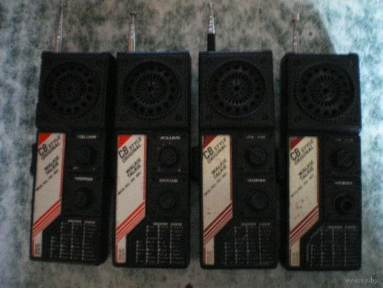 """Радиостанция """"NS-881"""", 4 штуки, все исправны."""