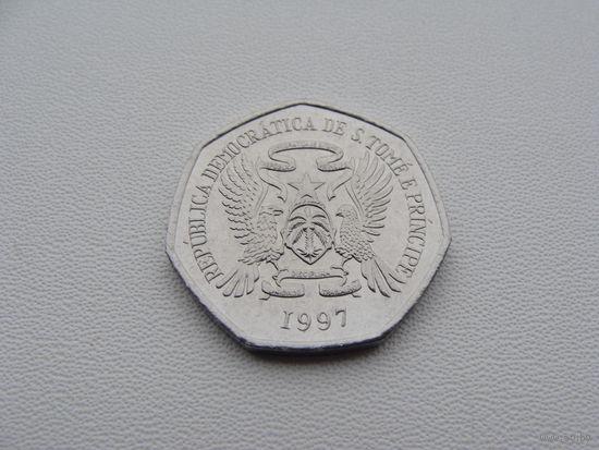 Сан - Томе и Принсипи.  500 добр 1997 год  KM#89