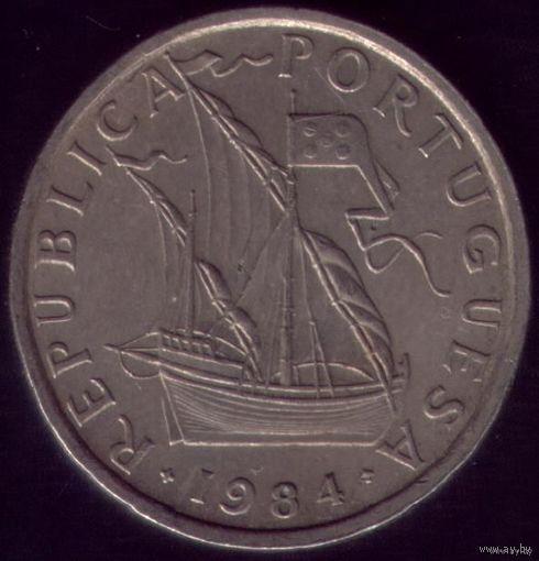 5 Эскудо 1988 год Португалия