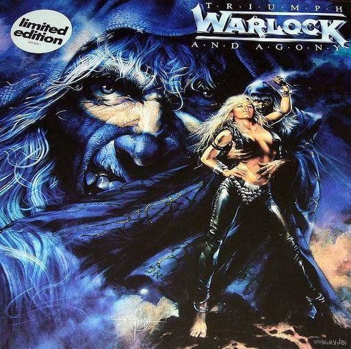 0556. Warlock. Triumph and Agony. 1987. Vertigo (DE, Ltd., Gatefold) = 23$