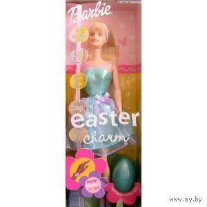 Новая кукла Барби, 2001 Mattel Barbie Easter charm