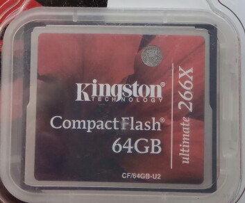 64Gb. Карта памяти Kingston CompactFlash Ultimate 266X 64 Гб. Compact Flash CF. 64 GB 64Гб