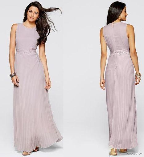 Элегантное струящееся/плиссированное платье BODYFLIRT