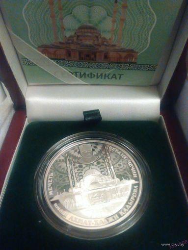 1000 франков 2015 г. Габон-Мечеть Сердце Чечни2