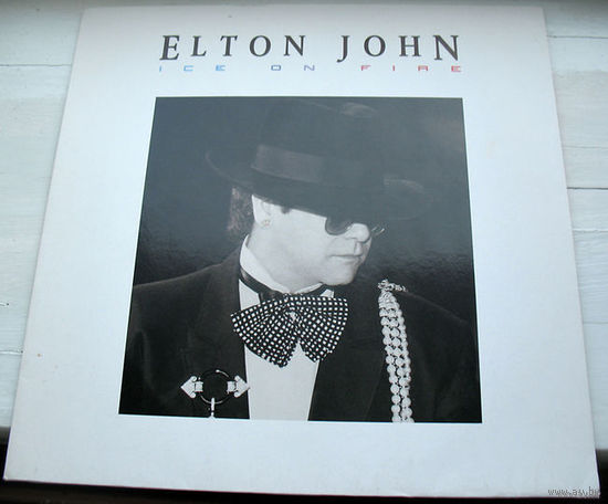 "Elton John ""Ice On Fire"" LP, 1985"