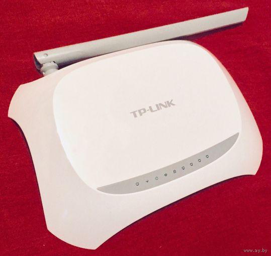 TP-Link TD-W8901N. Беспроводной DSL-маршрутизатор со встроенным модемом ADSL2+ 150 Mbps