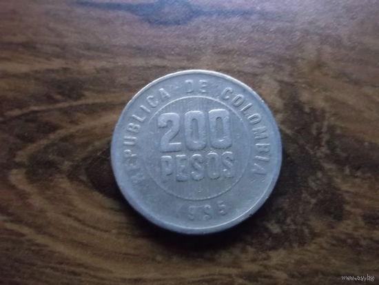 Колумбия 200 pesos 1995