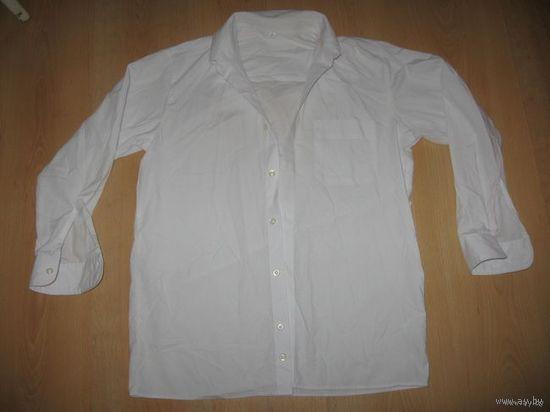 Белая рубашка рост 146
