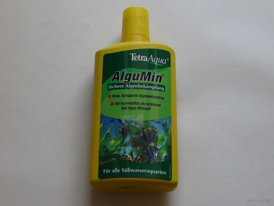 AlguMin для борьбы с водорослями, около 300 мл., начатая бутылка