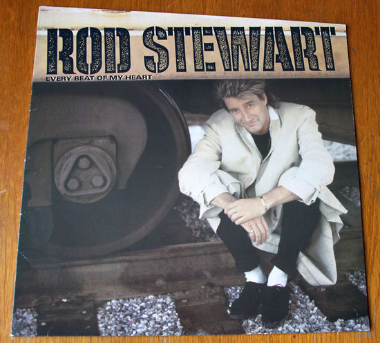 "Rod Stewart ""Every Beat Of My Heart"" LP, 1986"