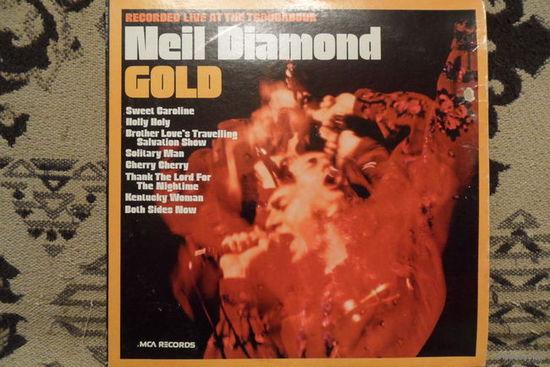 Neil Diamond - Gold. Recorded live at the Troubadour (1969) - MCA, США - год выпуска 1980