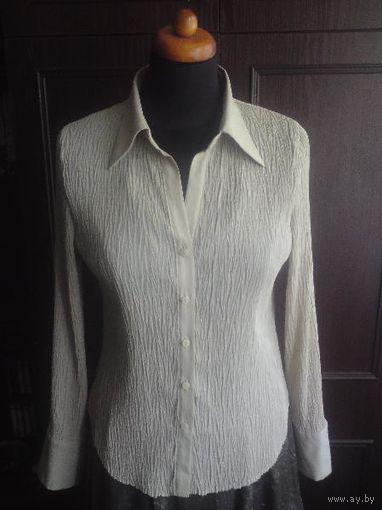 Классическая бежевая блузка, 44-46