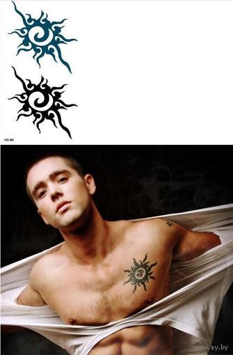 Временные татуировки.