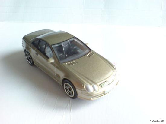 Мерседес  MB SL coupe  1\59   светлый какао металлик  распродажа коллекции