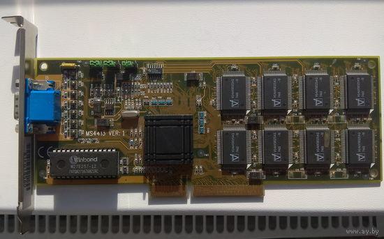 Видеокарта MICRO-STAR MS-4413 3Dlabs Permedia 2
