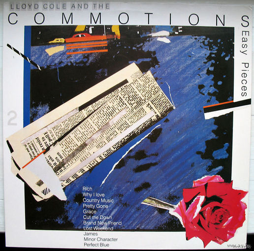 "Lloyd Cole and The Commotions ""Easy Pieces"" LP, 1985"